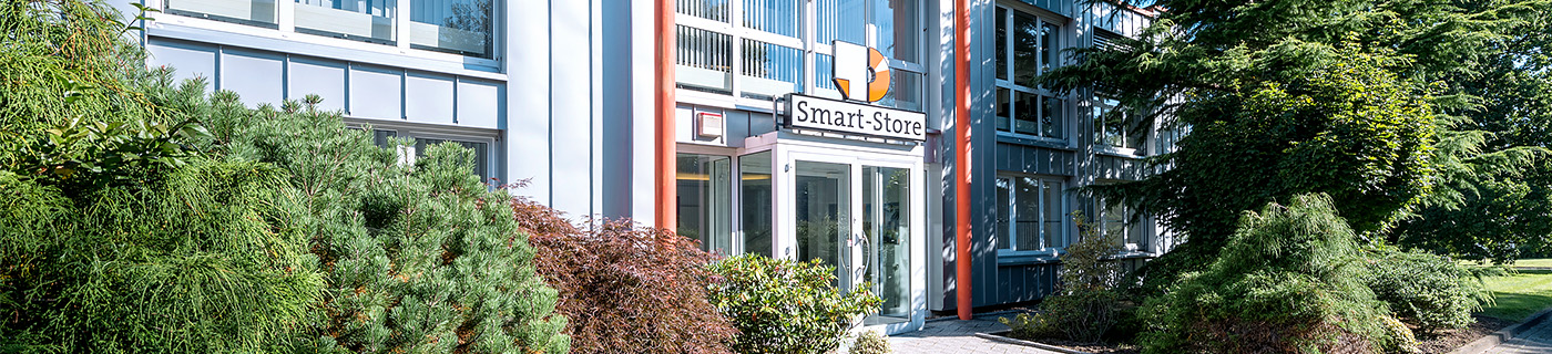 scandienstleister smart-store gebäude